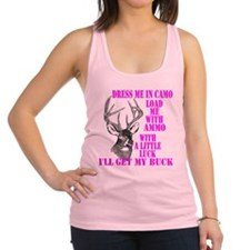 DRESS ME IN CAMO Racerback Tank Top