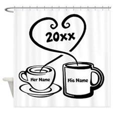 Personalize It Shower Curtain