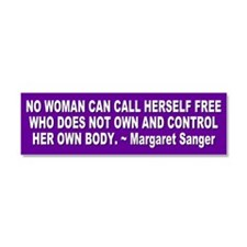 Unique Women's rights Car Magnet 10 x 3