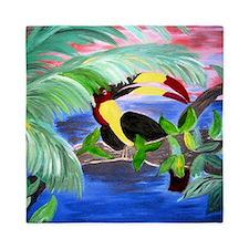 Toucan Rainforest Queen Duvet