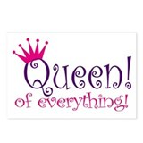 Queen of Everthing! Postcards (Package of 8)