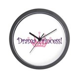 Drama Princess Wall Clock