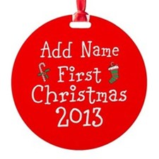 Baby's 1st Christmas 2014 Ornament