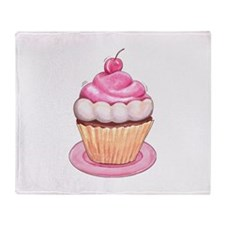 Cupcakes Throw Blanket