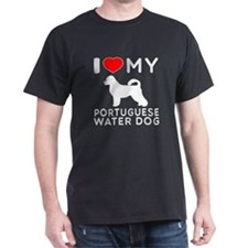 I Love My Dog Portuguese Water Dog T-Shirt