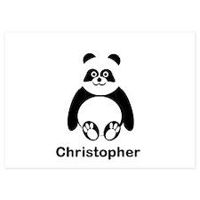 Personalized Panda Bear Invitations