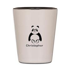 Personalized Panda Bear Shot Glass