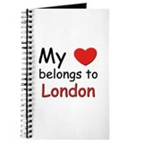 My heart belongs to london Journal
