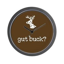 gut buck? Wall Clock