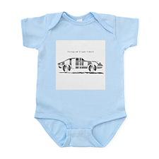 Anthony metal car Infant Bodysuit