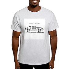 Anthony metal car Ash Grey T-Shirt