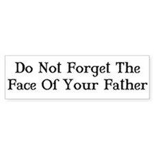 Face of Your Father/Dark Tower Bumper Bumper Sticker