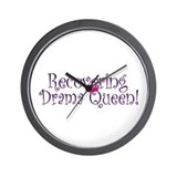 Recovering Queen Wall Clock