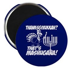 Thanksgivukkah Thats Mashugana Magnets