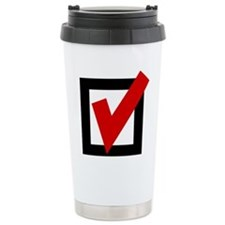 Check Mark Box Travel Mug