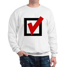 Check Mark Box Sweatshirt