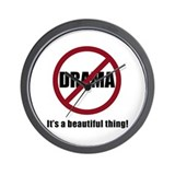 No Drama Wall Clock
