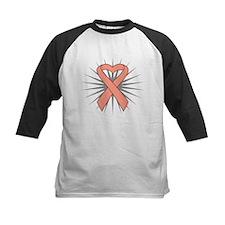 Uterine Cancer Heart Ribbon Tee