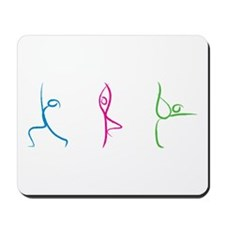 Yoga Poses Mousepad