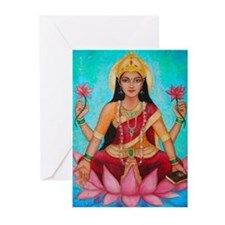 Greeting Cards (Pk Of 20) - Lakshmi