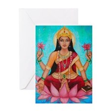 Greeting Card - Lakshmi