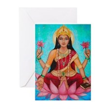Greeting Cards (Pk Of 10) - Lakshmi