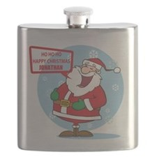 Cute Personalized Father Christmas Santa laughing