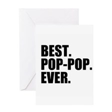 Best Pop-Pop Ever Greeting Cards