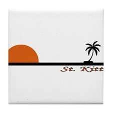 Unique Saint kitts and nevis Tile Coaster