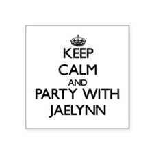 Keep Calm and Party with Jaelynn Sticker