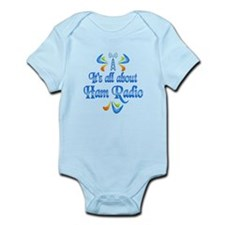 About Ham Radio Infant Bodysuit