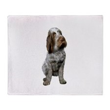 Italian Spinone (Roan) Throw Blanket