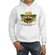 Personalized Name Irish Pub Hoodie