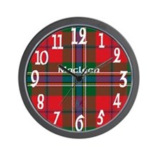 Maclean Clan Wall Clock