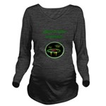 funny alien abduction ufo joke Long Sleeve Materni
