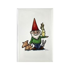 Fauna Gnome Rectangle Magnet
