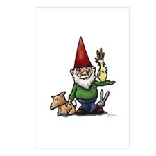 Fauna Gnome Postcards (Package of 8)