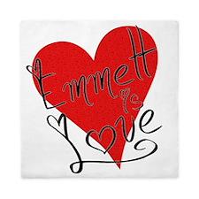 is_love_emmett Queen Duvet