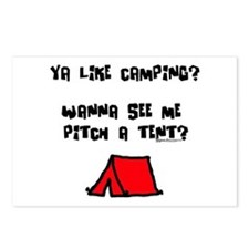 Pitch a Tent Postcards (Package of 8)