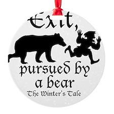 Exit-Bear cafe press Ornament