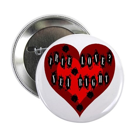 Holes in Heart Button