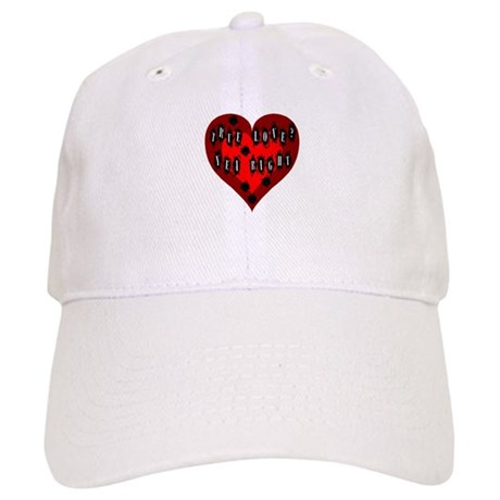 Holes in Heart Cap
