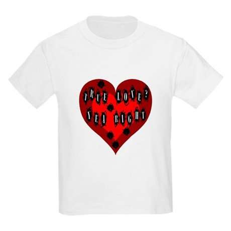 Holes in Heart Kids T-Shirt