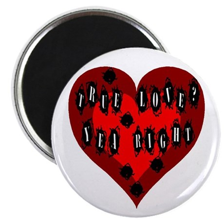 "Holes in Heart 2.25"" Magnet (100 pack)"