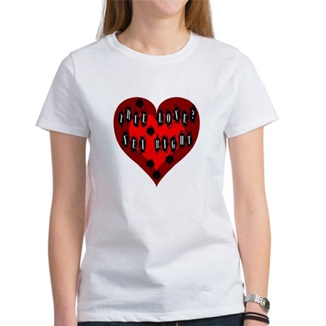 Holes in Heart Women's T-Shirt