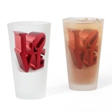 love_retro_sculpture-xlg Drinking Glass