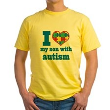 Autism - I Love My Son T