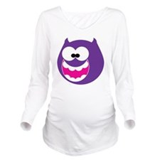 Silly Monster 2 Long Sleeve Maternity T-Shirt