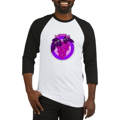 Purple Grapes Baseball Jersey