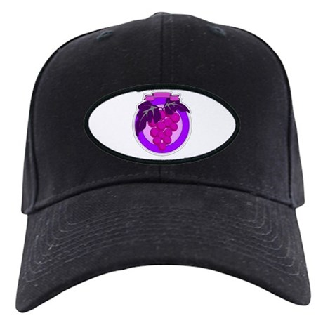 Purple Grapes Black Cap